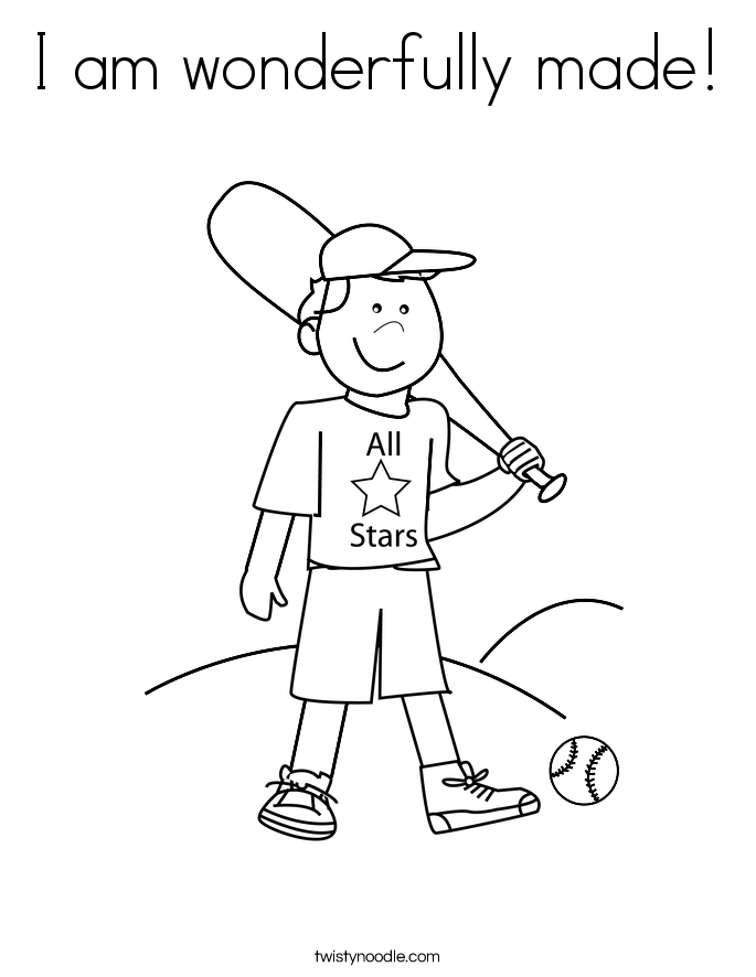 19++ I am special to god coloring page free download