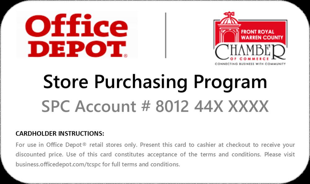 Kundenspezifische Geschäfts Karten Office Depot Zusammen Mit