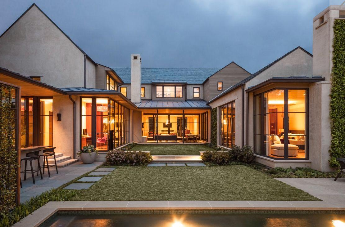 Modern Farmhouse Dromhus Arkitektur Hus Exterior