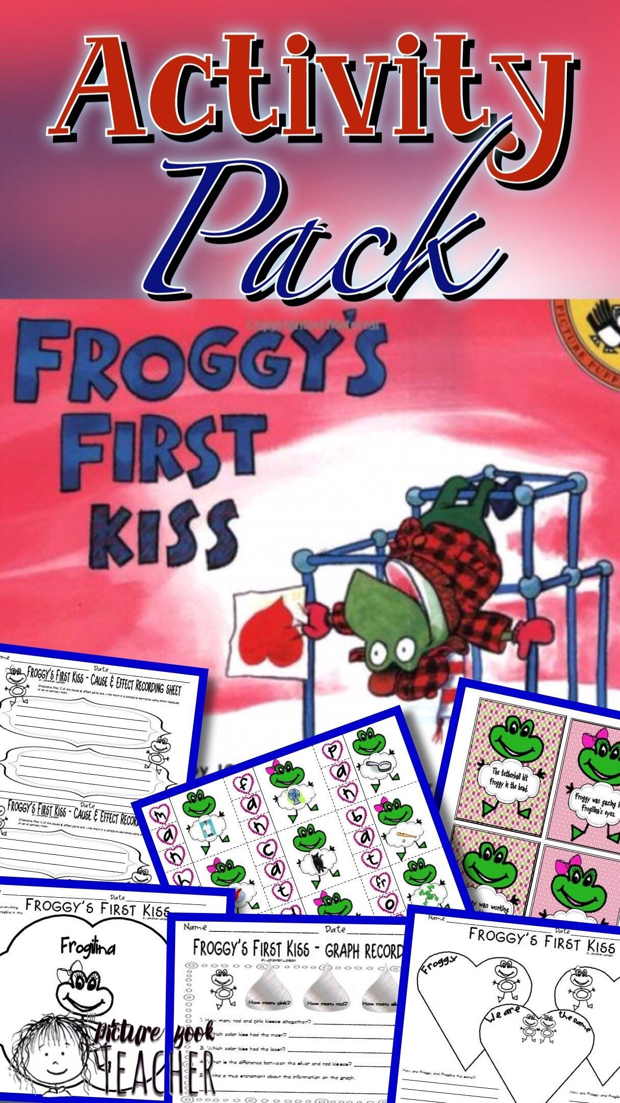 Reading Amp Math Activities Inspired By Froggy S First Kiss