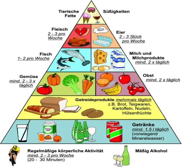 Arbeitsblatt ernährung bei diabetes
