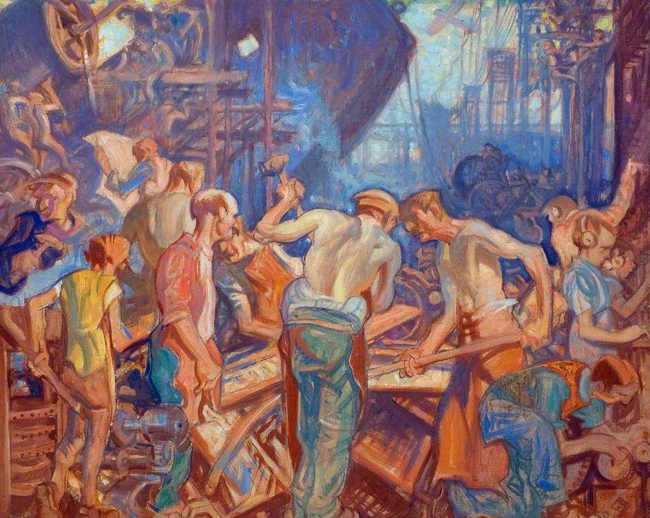 Frank William Brangwyn (1867-1956) - Industry