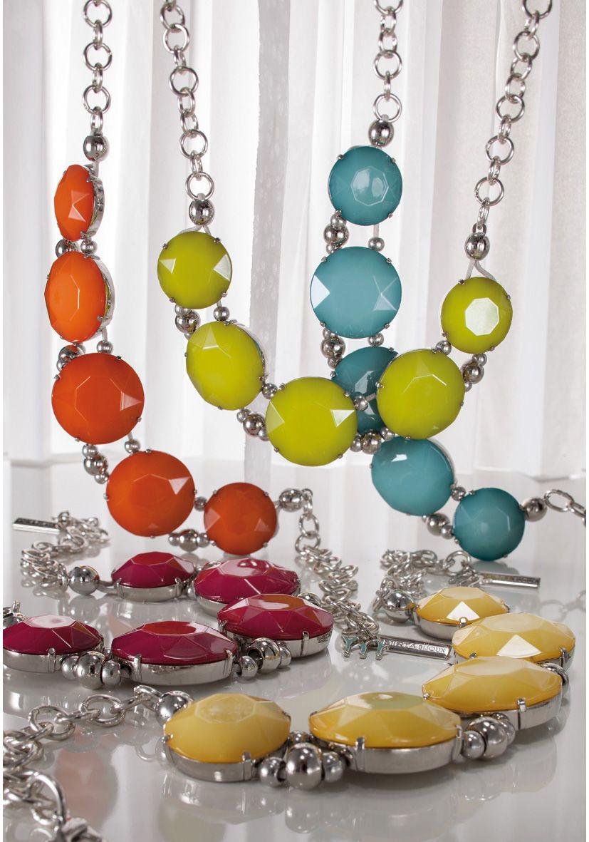 MIRTABIJOUX www.mirta-bigiotteria-online.com collier in resina policroma ed elementi in metallo