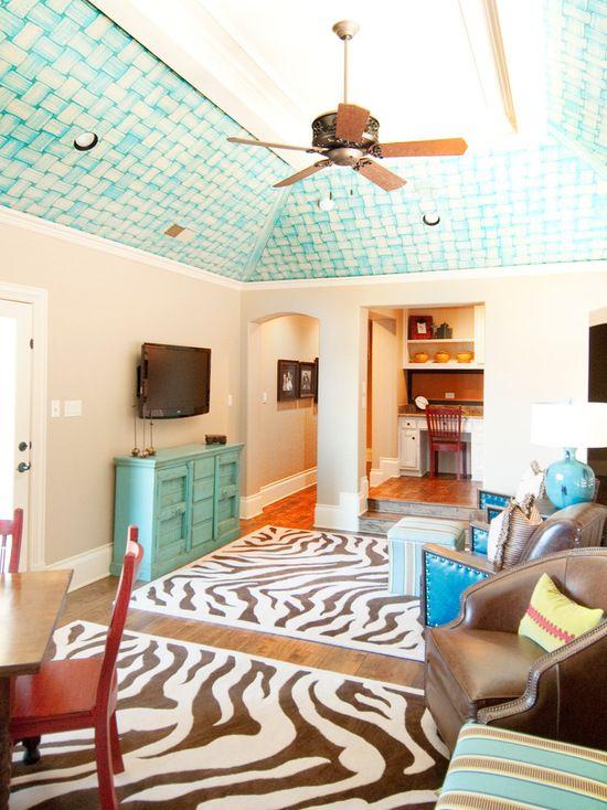 vibrant family retreat hacienda chic interior design california