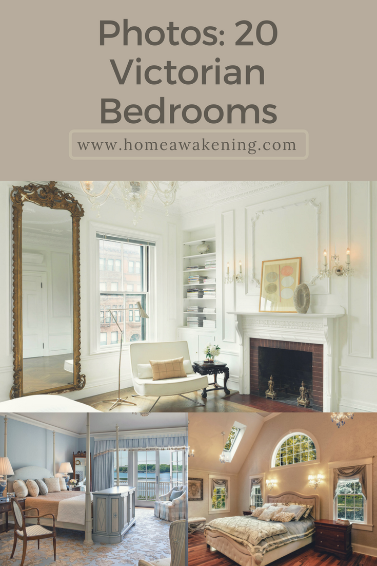 Check Out 20 Different Beautiful Victorian Bedroom Design Ideas #victorian  #bedroom #homedesign