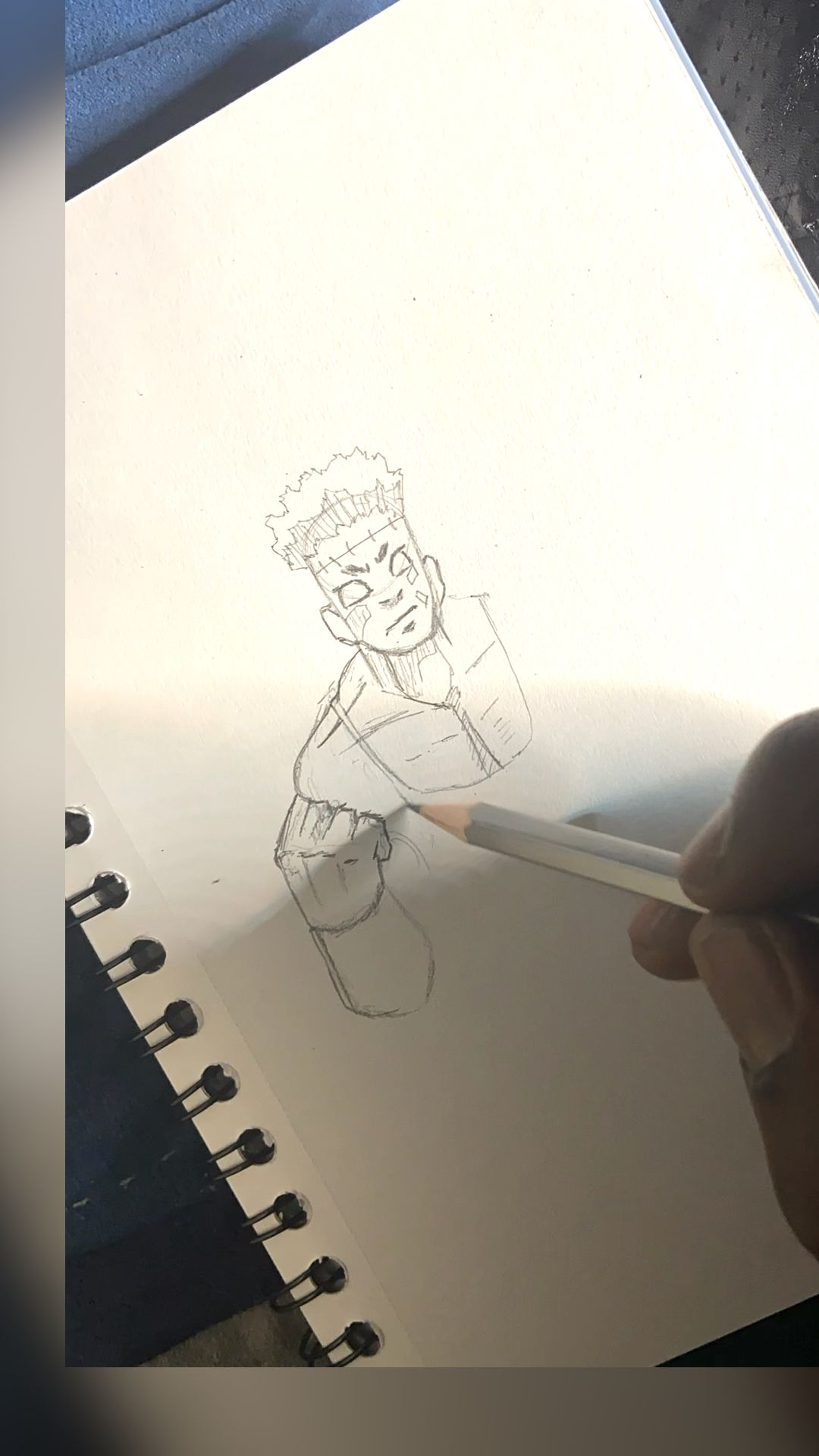 Photo of Anime Pencil drawing