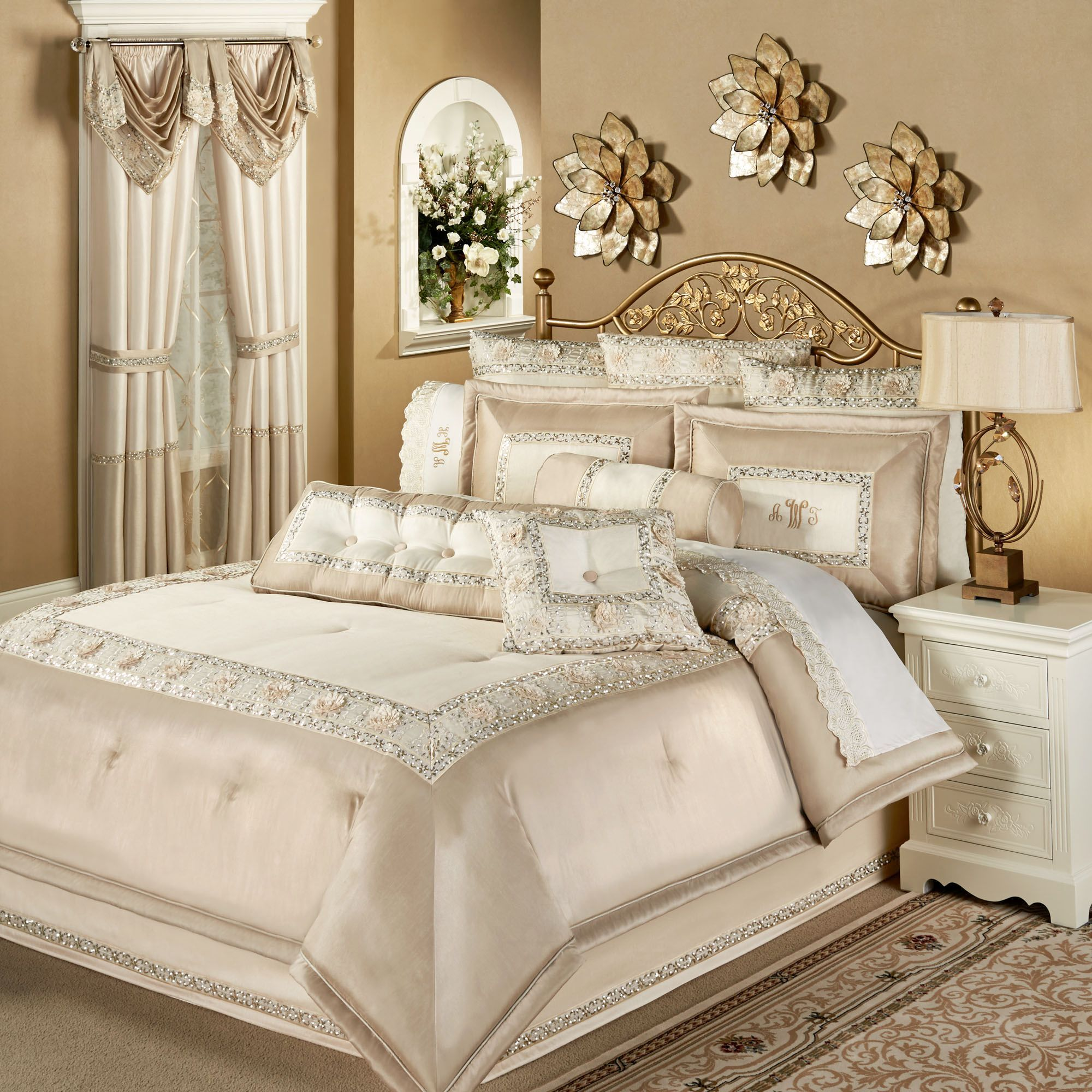 Elegante Faux Silk Luxury forter Bedding
