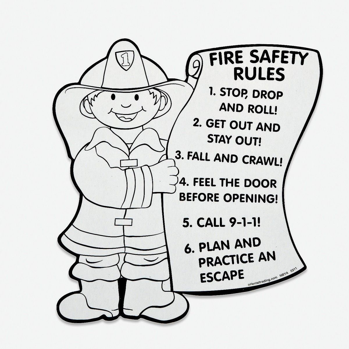 Unique Fire Safety Coloring Pages For Free Colouring Pages With Fire Safety Coloring Pages Fire Safety Fire S In 2021 Fire Safety Fire Safety For Kids Fire Safety Free