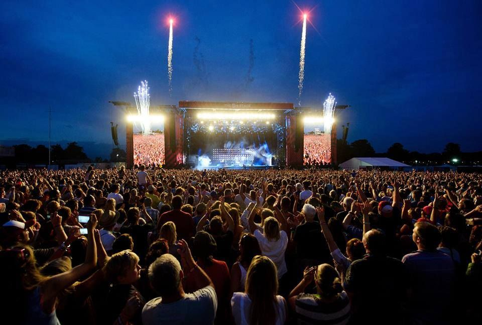#VFestival - Beat the blues and beat the March RUSH