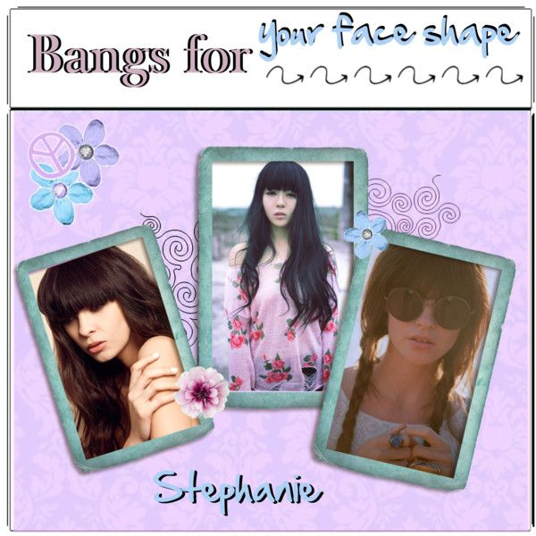 bangs-for your face shape