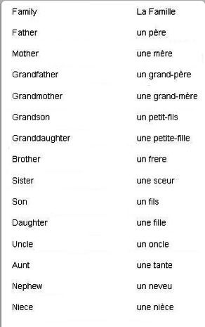 Basic French | Apprendre l'anglais, L'éducation française ...