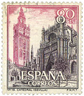 Vintage Stamp From Spain Aka Espana