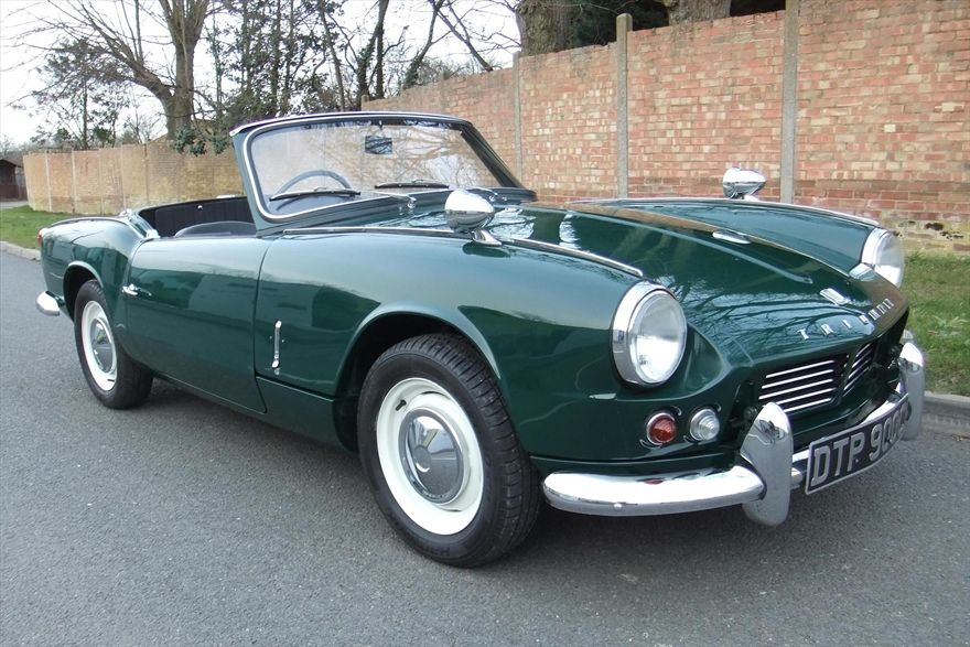 Triumph Spitfire 4 Mk2 1965 Green For Sale Car Advert 297520