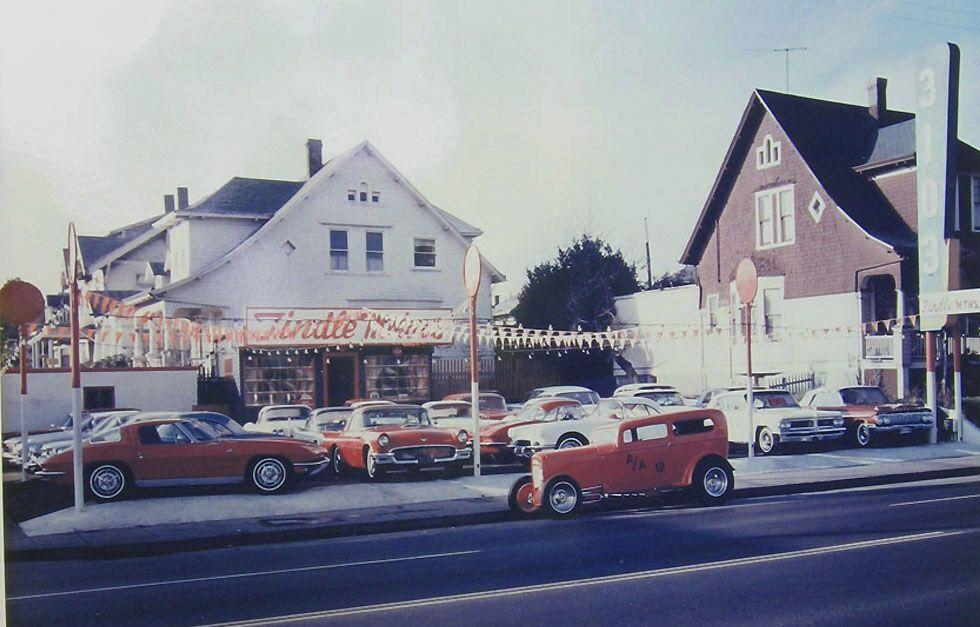 Vintage shots from days gone by! Car dealership, Custom