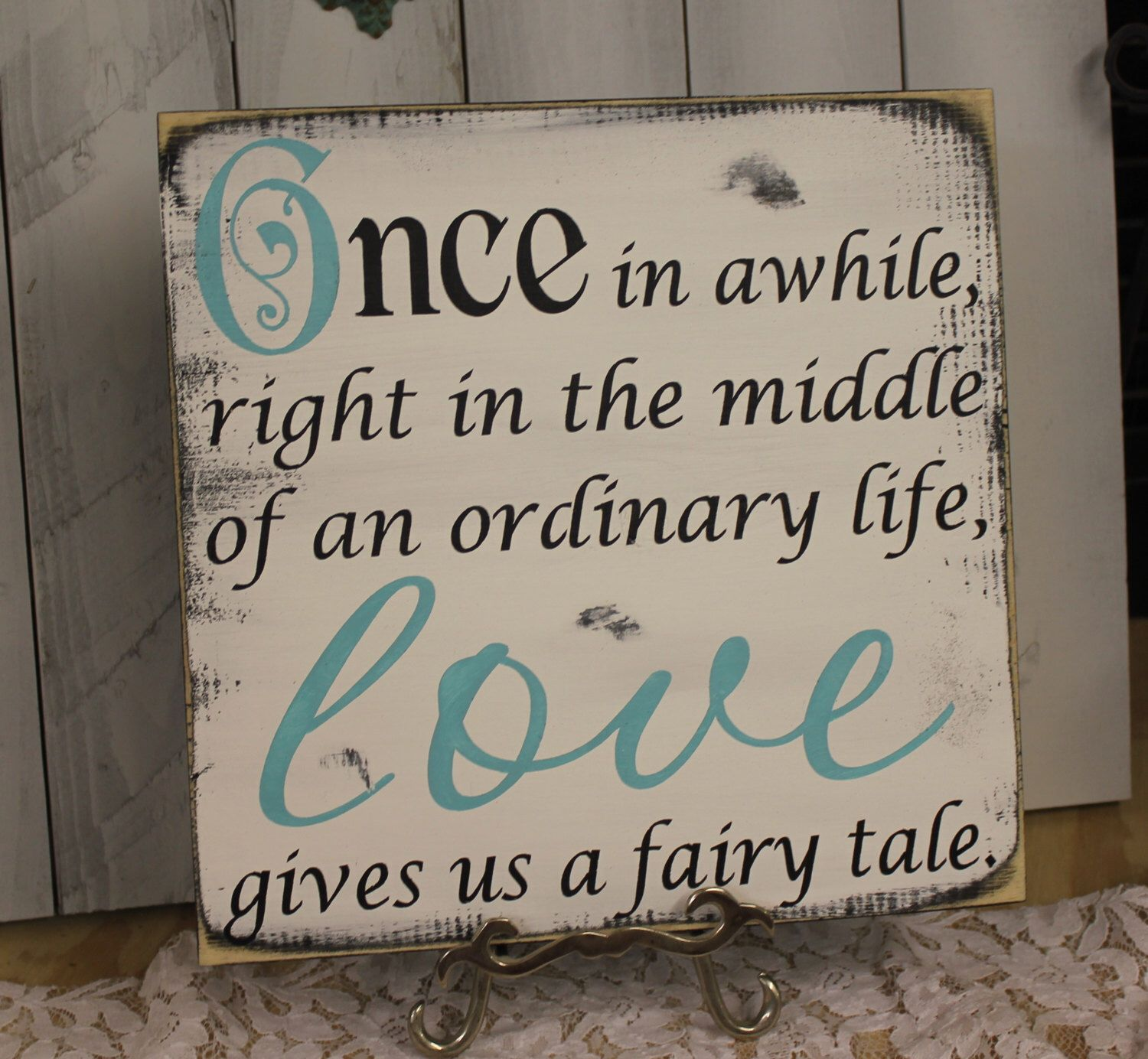 ONCE in awhileLOVE gives us a fairy