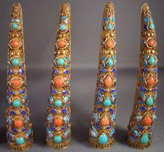 chinese nail guards | 1000+ images about Chinese Export Jewelry on Pinterest | Chinese ...