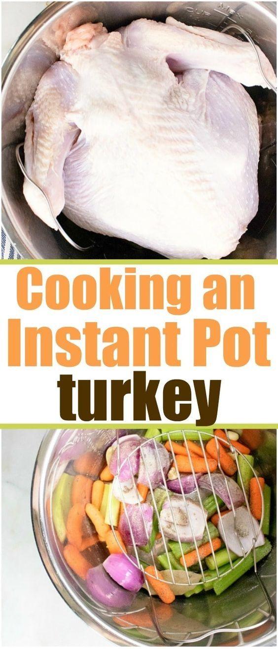 Pressure Cooker Turkey #thanksgivingrecipessidedishes