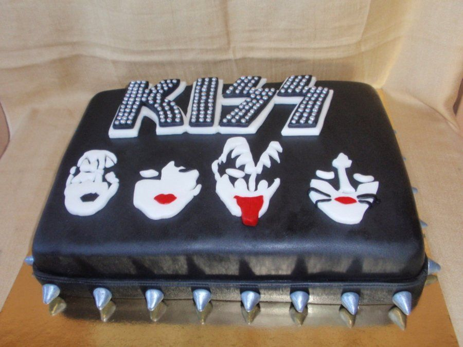 Miraculous Kiss Band Kiss Birthday Party Birthday Kiss Cake Band Funny Birthday Cards Online Overcheapnameinfo