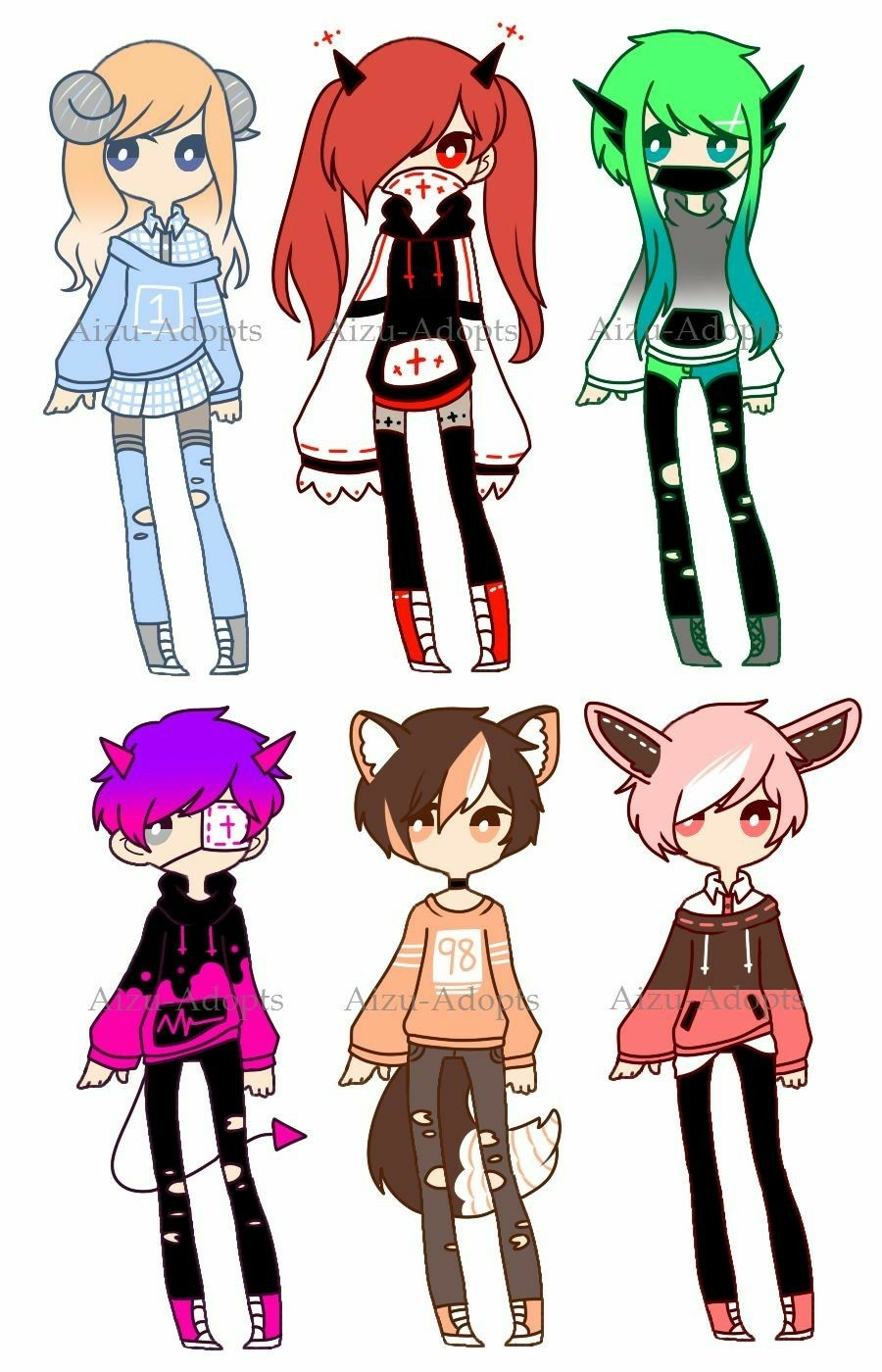 Pin by aria on random drawing anime clothes cute