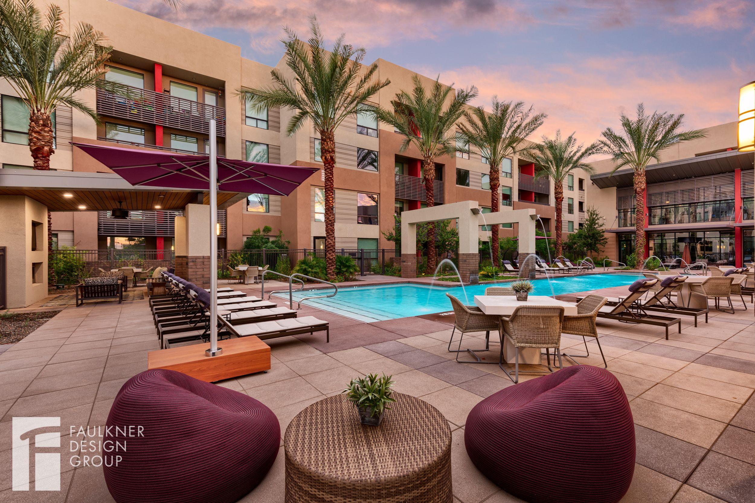 Designed by Faulkner Design Group outdoorliving pool