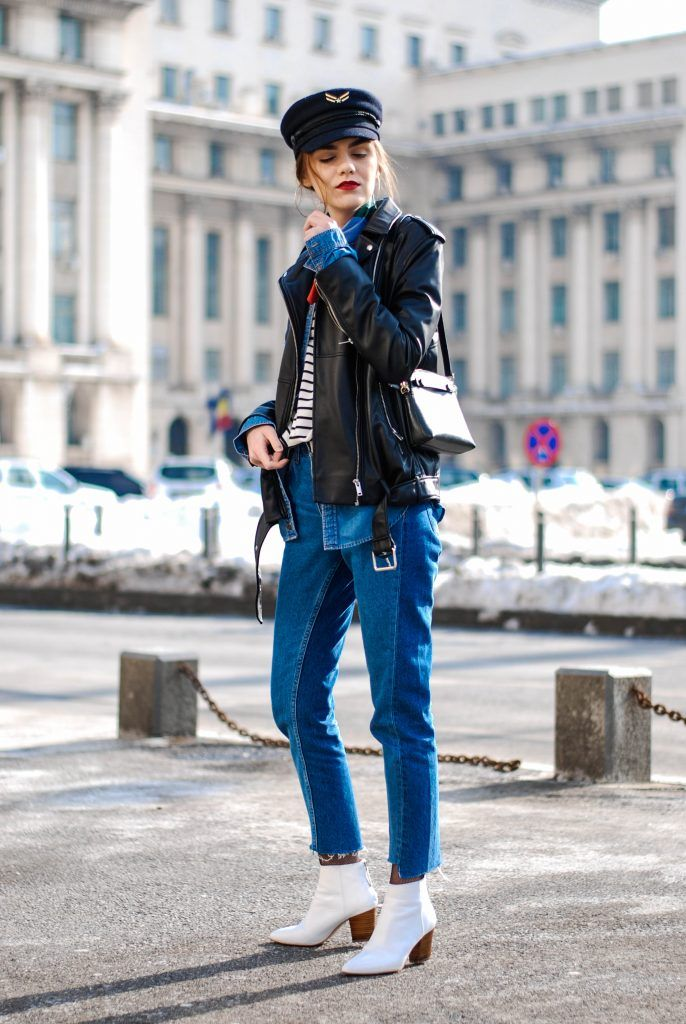 How to look cool in a pair of jeans and a striped top • Couturezilla
