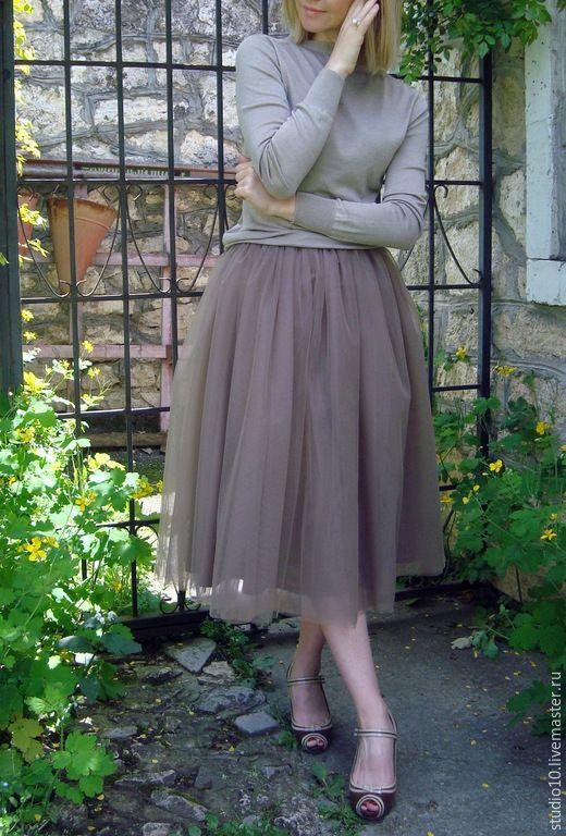 Зарина юбки из фатина