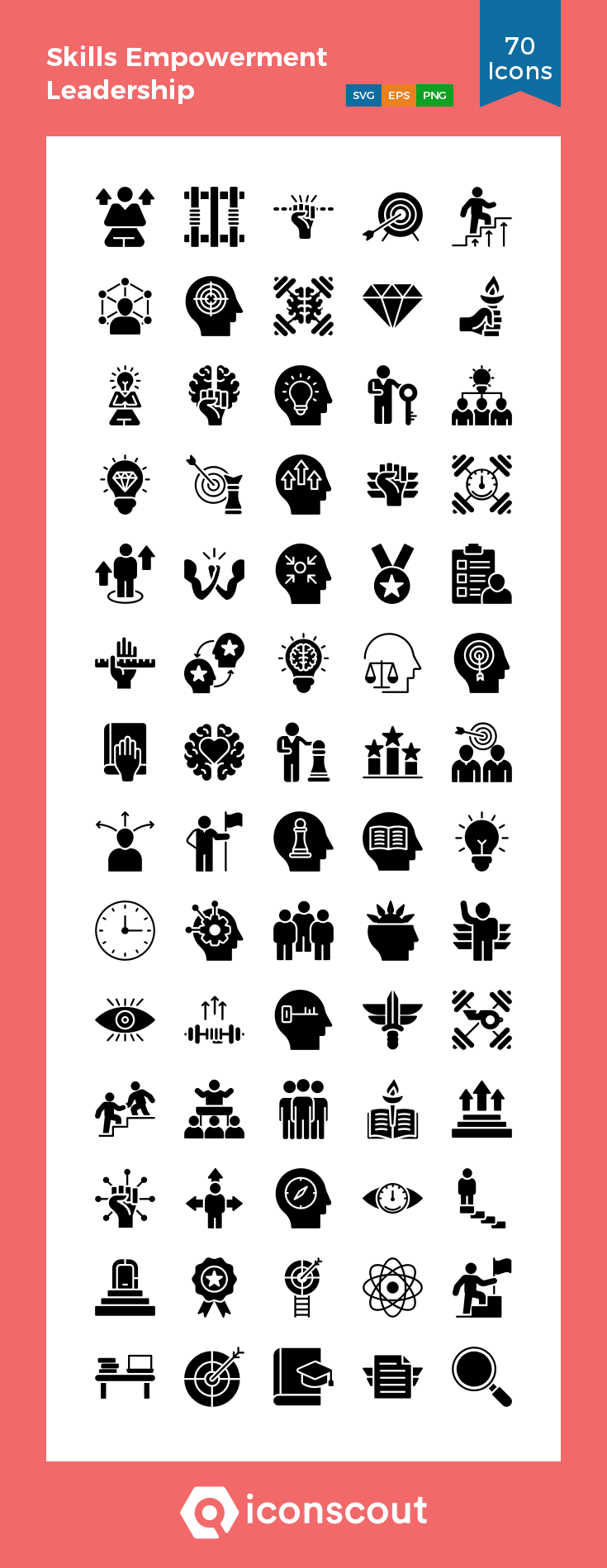 Download Skills Empowerment Leadership Icon Pack Available In Svg Png Eps Ai Icon Fonts Leadership Leadership Quotes Work Positive Quotes For Work
