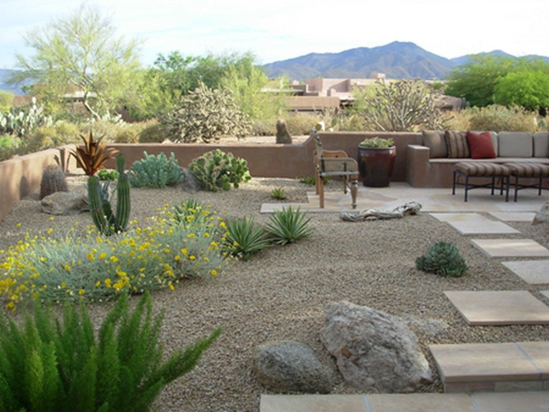 Az Landscapes Backyards Ideas Small Backyards Pavers Arizona