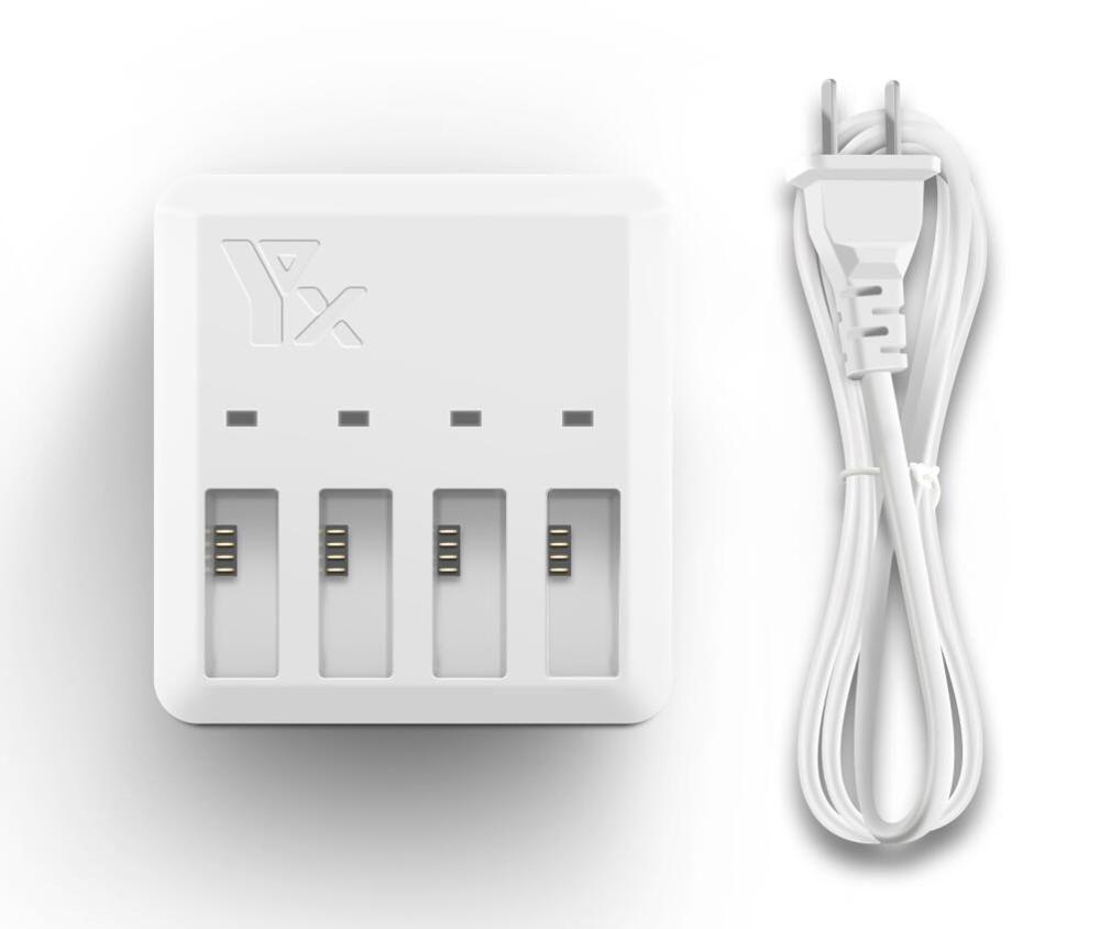 Buy Lipo Charger 4 In 1 Multi Battery Charging Hub For Dji Tello 1100mah Drone Intelligent Flight Akku Quick Charging Us Eu Plug
