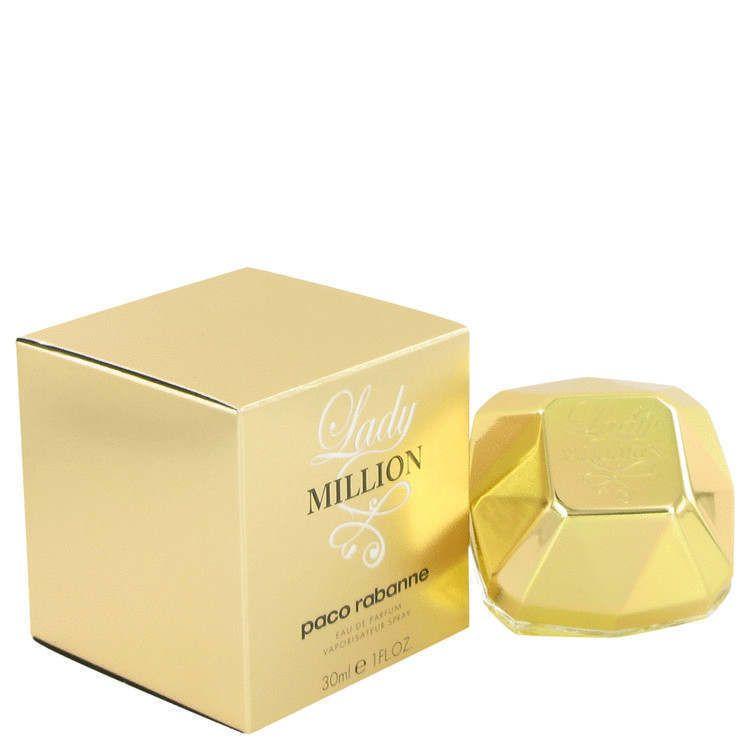 1 One Lady Million Perfume 1 Oz Eau De Parfum 30 Ml By Paco Rabanne