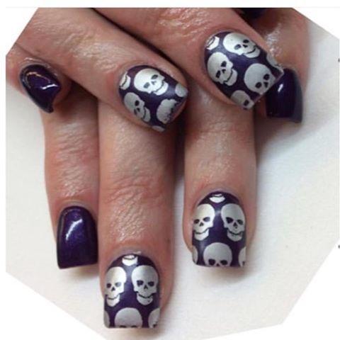 pinpenny bishop on halloween art  halloween nail