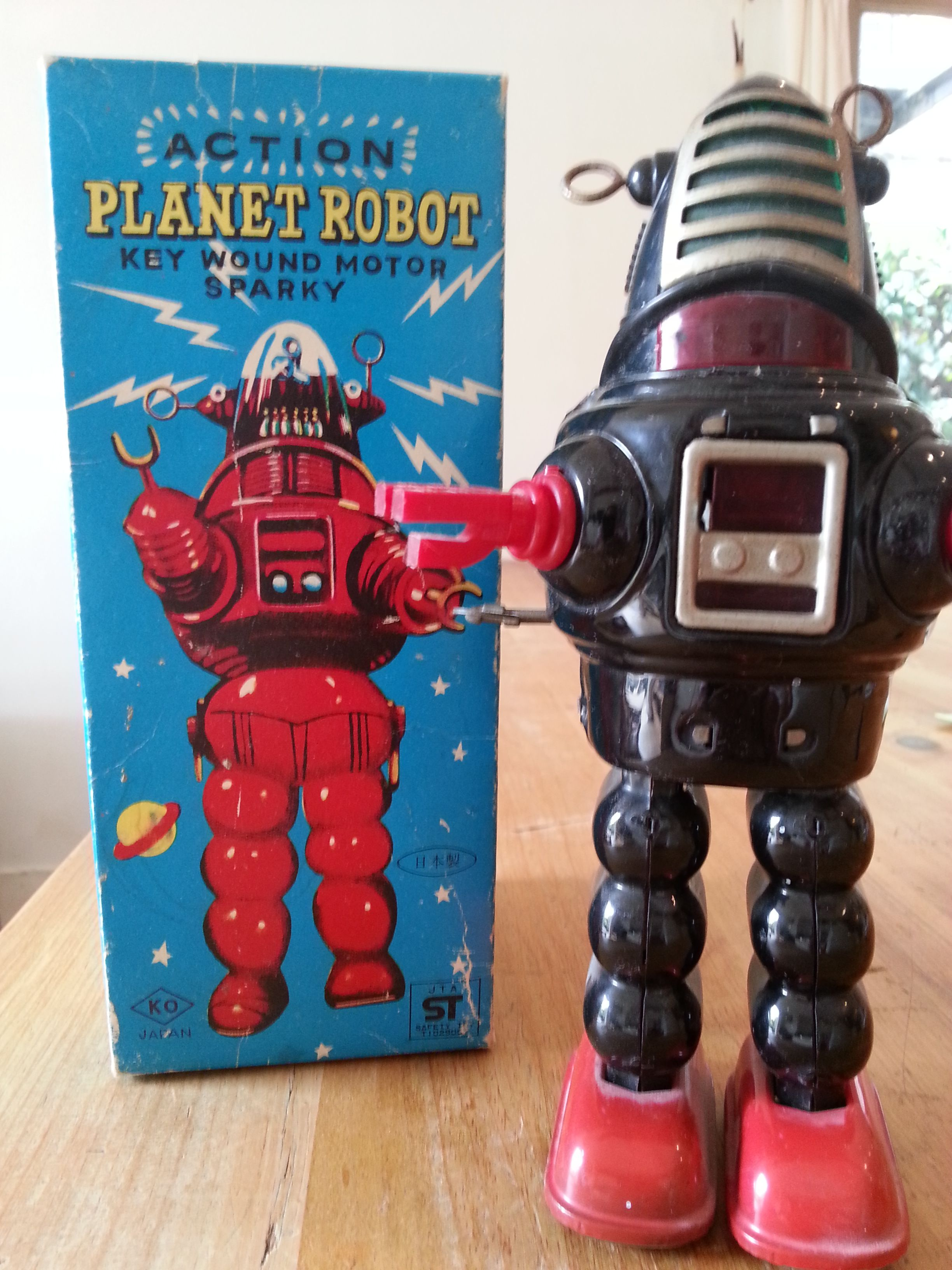 Original Robbie Robot. In 1950' Film