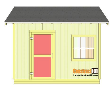 Shed Plans 10x12 Gable Shed - Step-By-Step Roof plan, Detailed