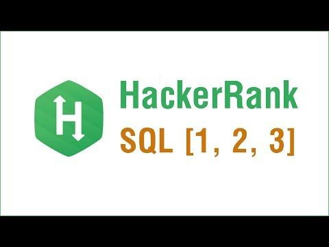 Hacker Rank Problems in Arabic - SQL Problems 1, 2, 3 | show