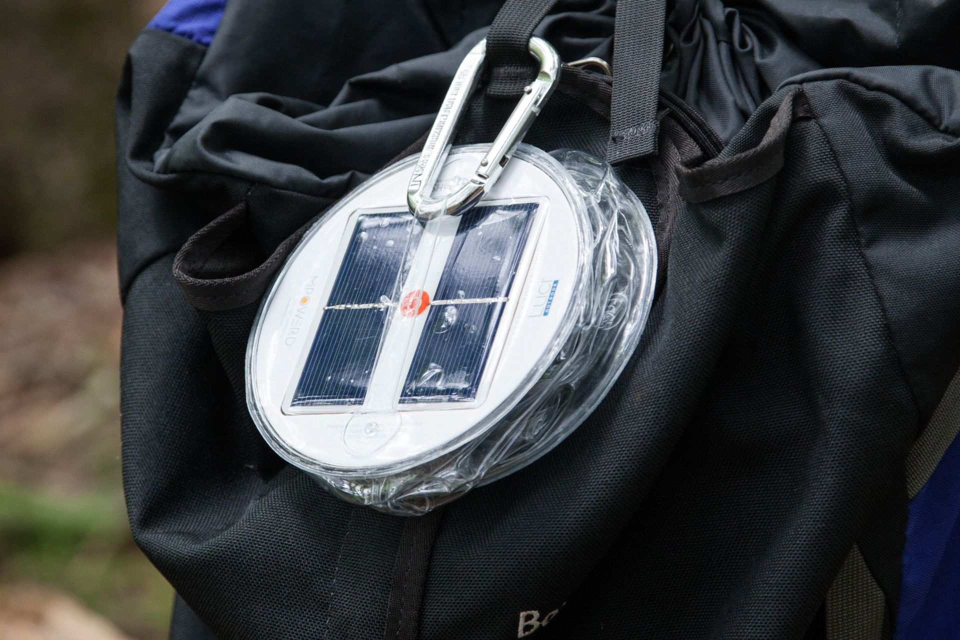 What's easier than attaching this lightweight lantern to your backpack and heading out the door? - Luci Outdoor. Inflatable Solar Light | Outdoor Lighting | Nature | Camping | Hiking