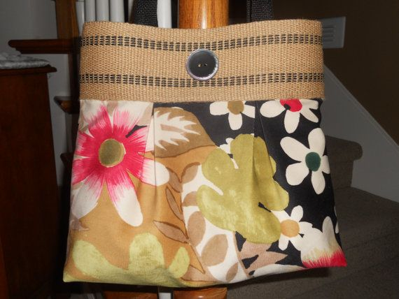 Handmade Purse...The Brooke...in Velvet Floral by ItsSewDarnCute, $36.95