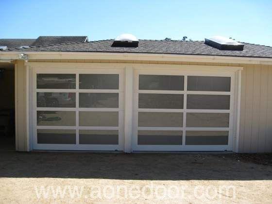 Roll Up Garage Door By A 1 Overhead Door Company In Santa Cruz Http Www Aonedoor Com Overhead Door Garage Door Installation Custom Garage Doors