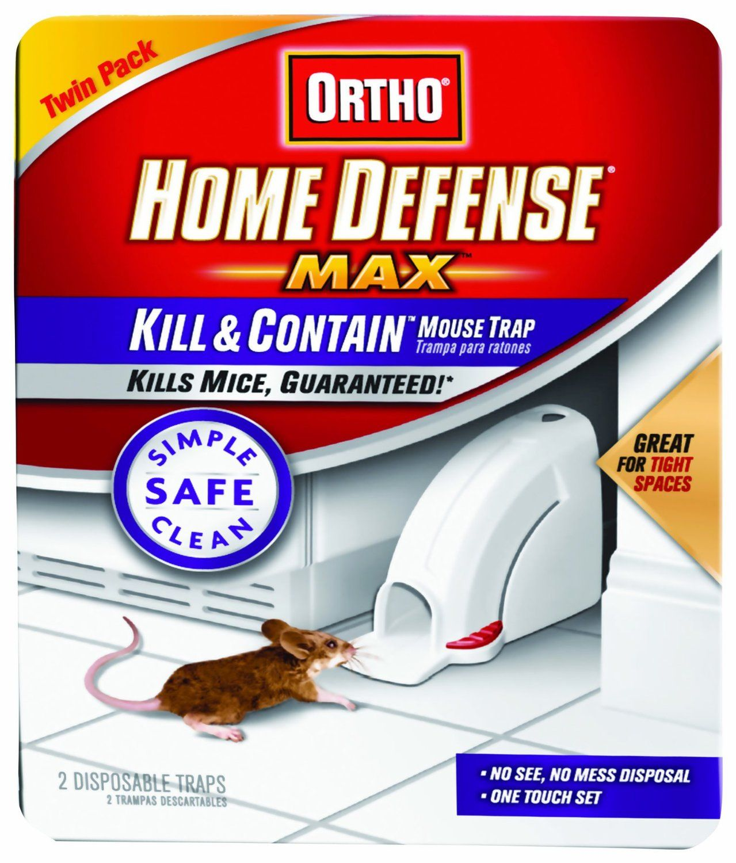 Ortho 0320110 Home Defense MAX Kill & Contain Mouse Trap