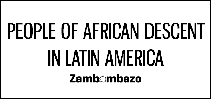 People of African Descent in Latin America - Activities and resources for Spanish class
