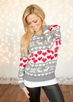 Loving Reindeers Sweater