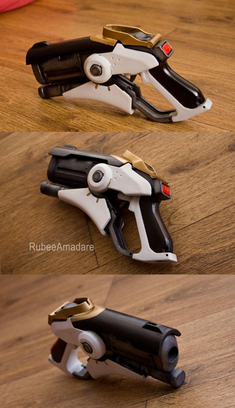 Overwatch - Mercy cosplay gun by RubeeAmadare