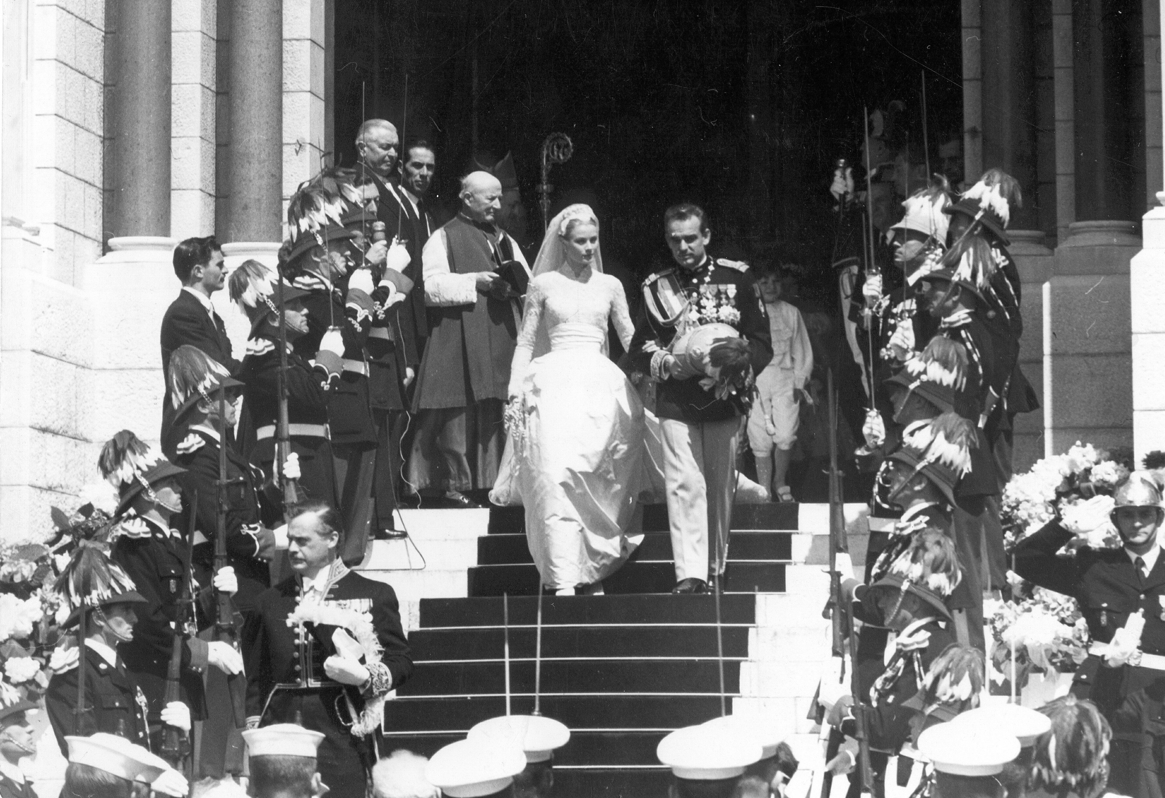 Rainiero y Grace Kelly - Grandes, pequeñas, felices o desgraciadas: las otras bodas de Mónaco