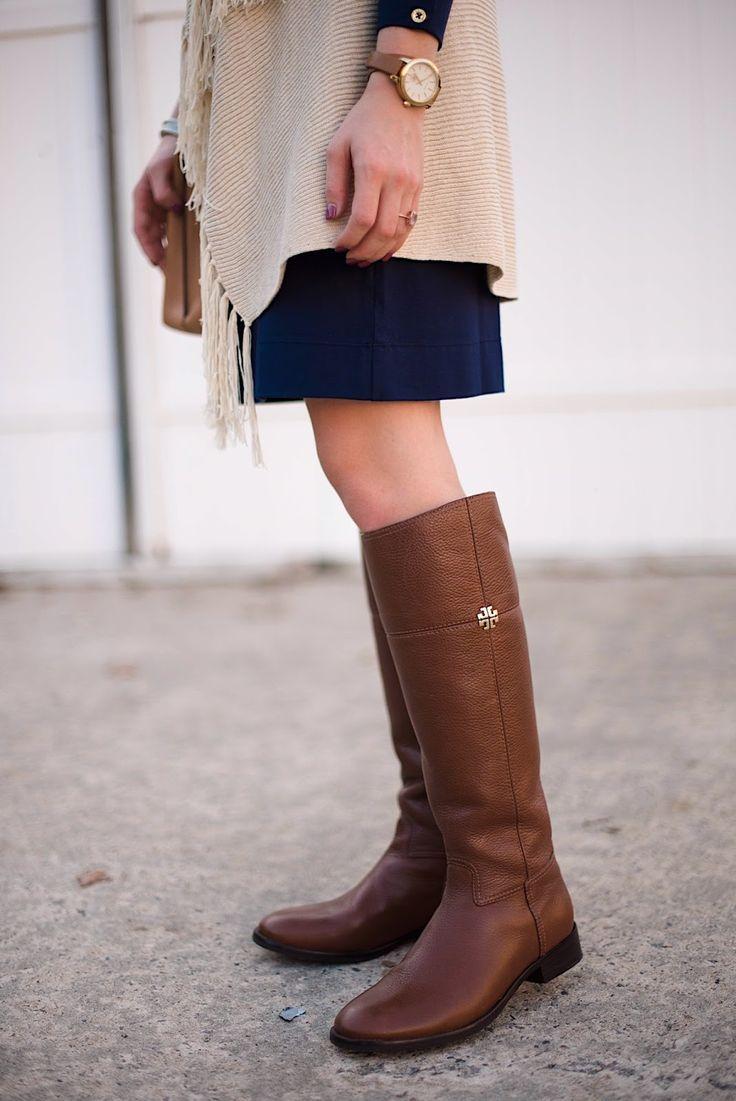 509ceeb93 Tory Burch Riding Boots - Rachel Timmerman of Something Delightful Blog