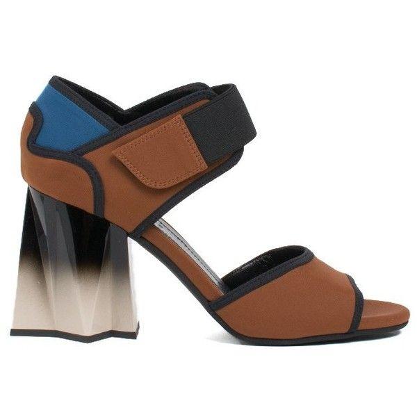 Envío Gratis Auténtica Salida Fiable Marni colour-block sandals - Marrone Descuento Obtener Auténtica xpmhXtjIF