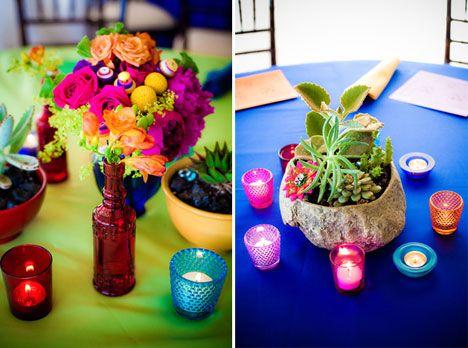 Mexican Wedding Centerpieces Inspiration Cinco De Mayo