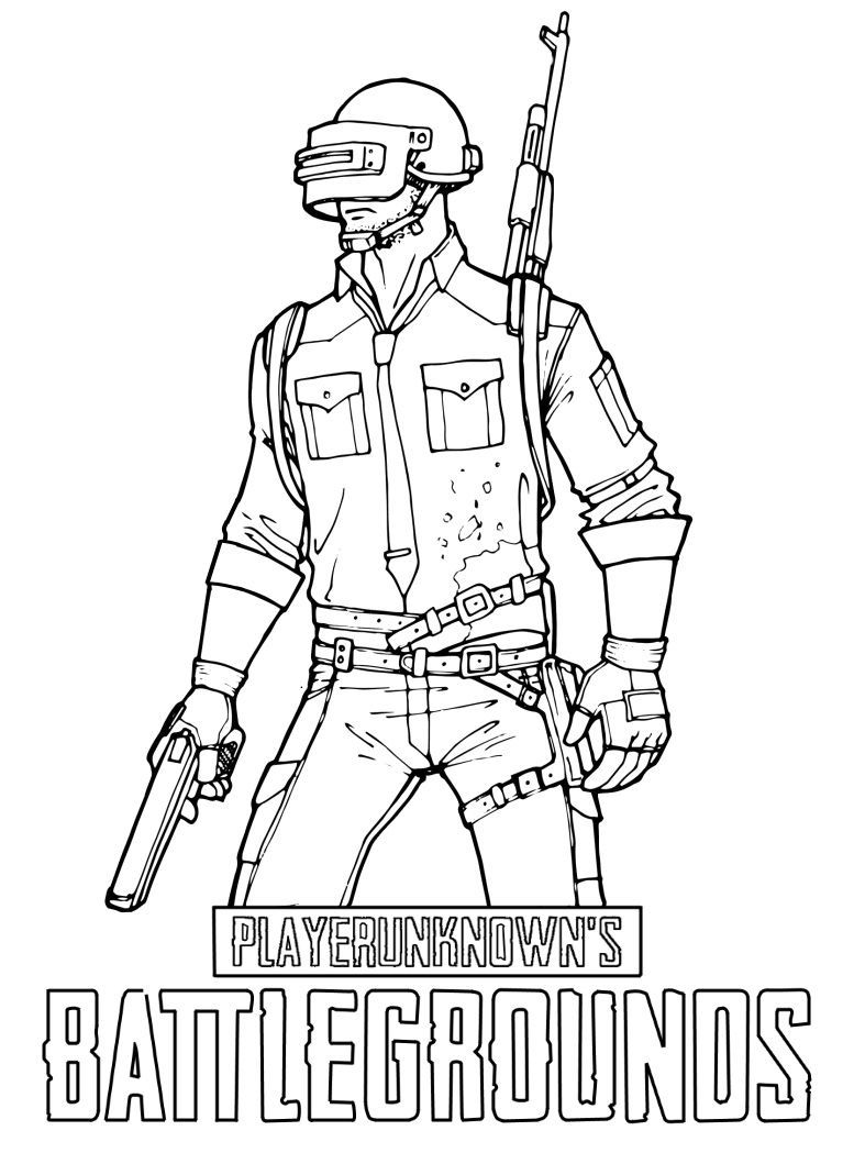 9 Awesome Pubg Coloring Pages In 2021 Coloring Pages Cute Stickers Coloring Pages For Kids