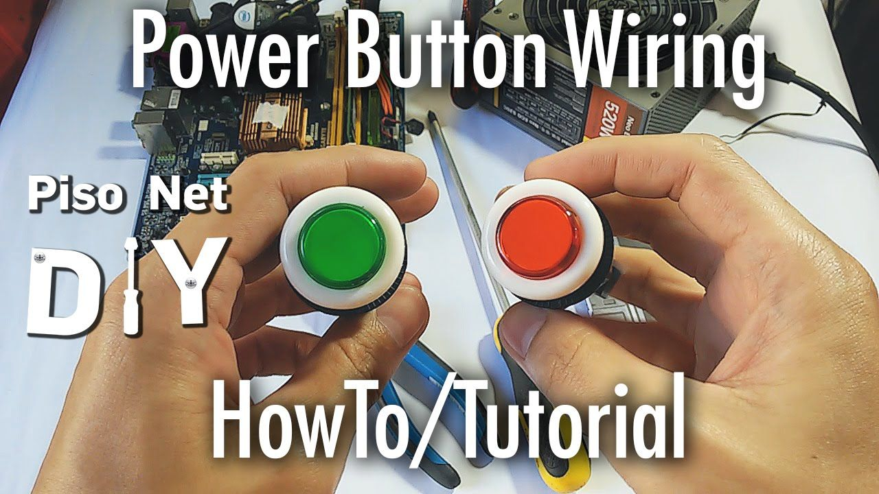Electrical Wiring Tutorial Tagalog Trusted Diagram Pisonet Diy Power Button Arcade Cabinet Automotive Diagrams