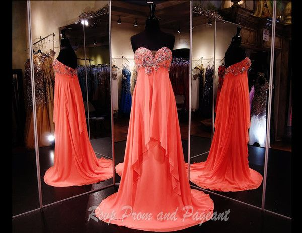 100ep037470318 Watermelon Prom Dress Pageant Dress Rsvp Prom And