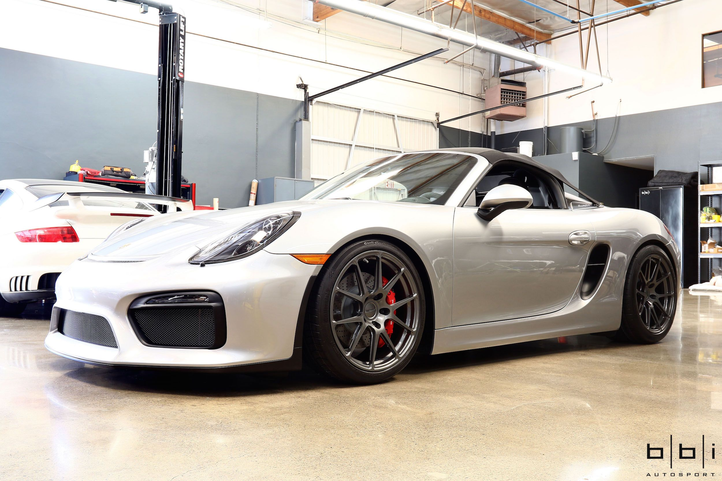 The team at bbi autosport upgraded this 2016 porsche boxster spyder with their 405hp streetcup stage