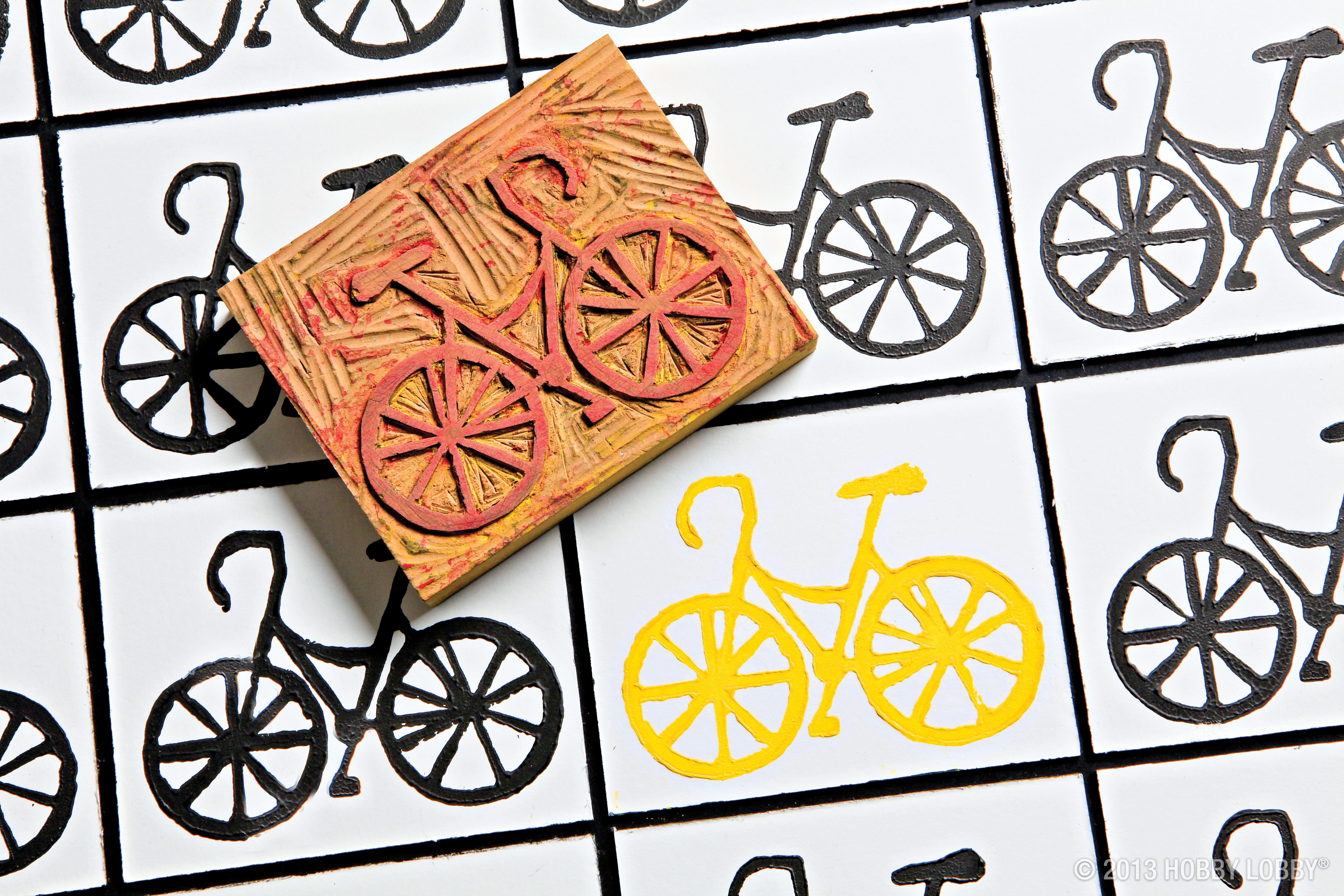 Carve a handmade stamp block for DIY art projects that show off your quirky sense of style!